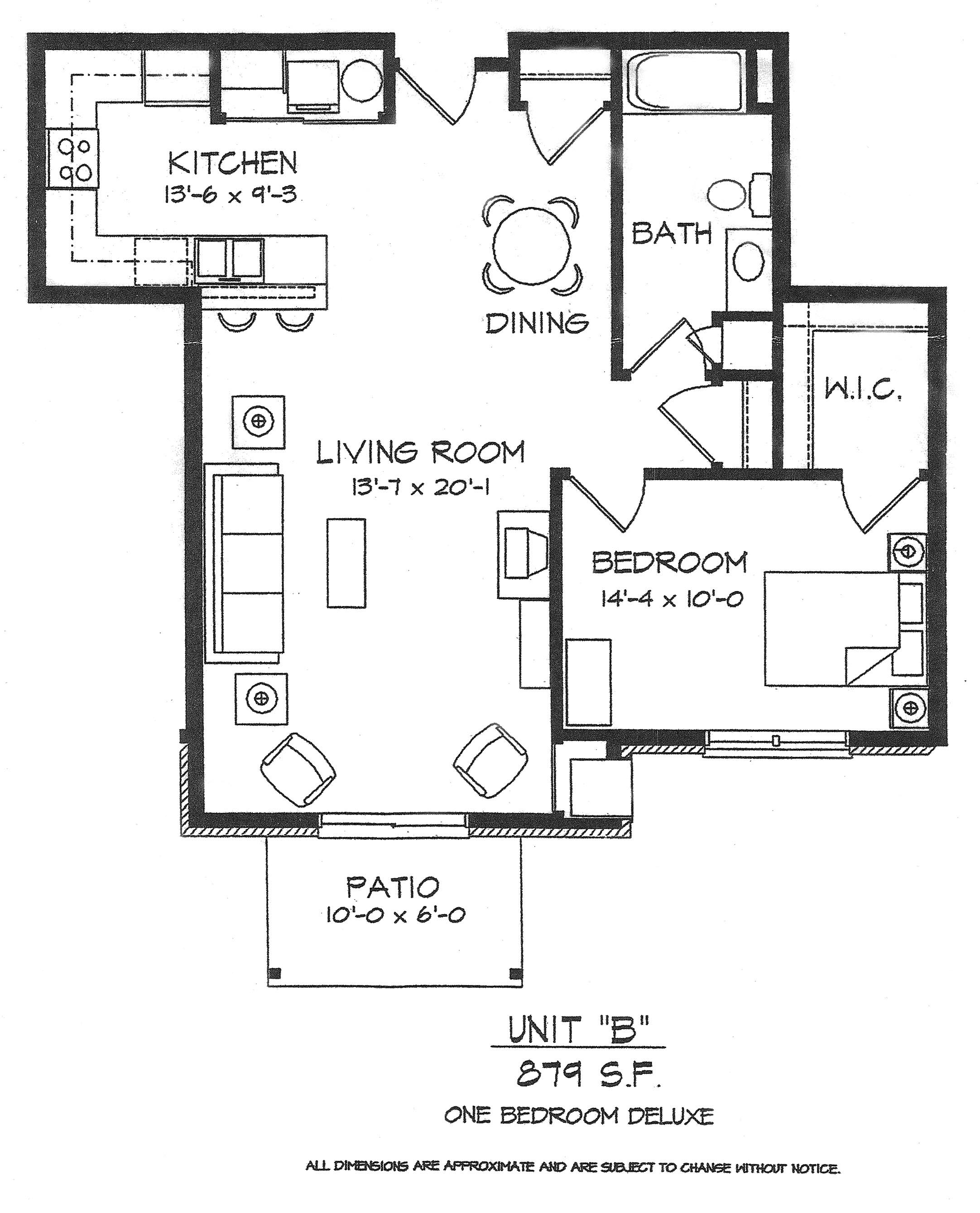 Floor plans hartland wi retirement senior apartments for Different floor plans for house